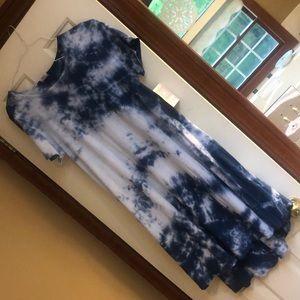 NWT CARLY SMALL RARE TIE DYE DRESS:)